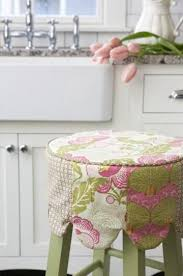 chagne chair covers adorable barstool cover turns a plain inexpensive chair into a