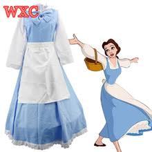 Belle Halloween Costume Adults Popular Blue Belle Costume Buy Cheap Blue Belle Costume Lots