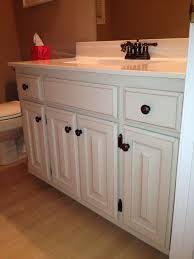 Painting Bathroom Cabinets Color Ideas How To Paint White Bathroom Cabinets Black Nrtradiant