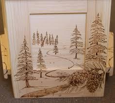 custom artwork the pine box