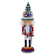 buy nutcracker decorations from bed bath beyond