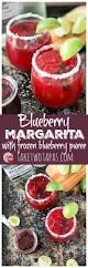 pomegranate margarita blueberry margarita using homemade frozen blueberry puree