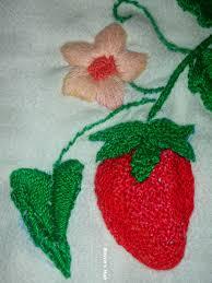 Fish Bone Stitch Embroidery Tutorials Royce S Hub The Strawberry Vine Embroidery
