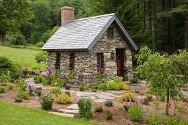 located in alstead n h this 10x15 foot stone cottage is modeled