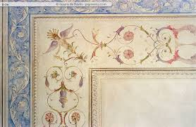 soffitti dipinti decorazioni murali grottesche arte ornamentale d interni