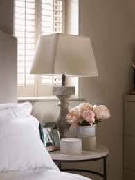 bedside table lamps where the heart is pinterest crystals