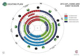 Angel Stadium Seating Map The Best Seat For Watching Footy At The Mcg Melbourne