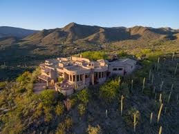 Mansion For Sale by Mountaintop Mansion For Sale In Cave Creek Arizona 54 Acres