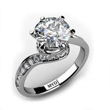 engagement ring design modena a unique certified diamond engagement ring design
