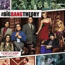 the big bang theory wall calendar 2017 day dream 9781629057453