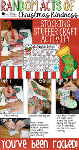 random acts of christmas kindness u0026 stocking stuffer craft