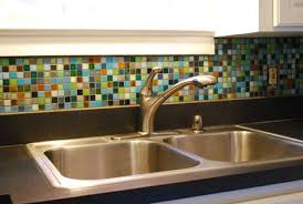 Glass Tile Kitchen Backsplash Pictures Imagine The Possibilities - Colorful backsplash tiles