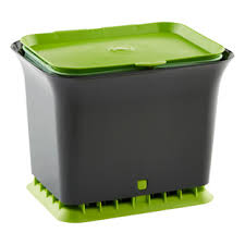 kitchen compost bin the container store