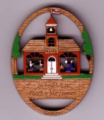 schoolhouse pin 191 8 95 wallace wood ornaments quality