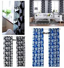 Drapes Black And White Ikea Curtains Black And White Decorate The House With Beautiful