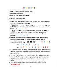 rummikub instructions rummikub pinterest diy games and grandkids