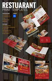 27 restaurant brochure templates u2013 free psd eps ai indesign