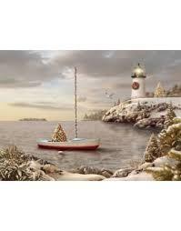 nautical christmas cards lighthouse christmas cards nautical christmas cards