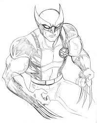coloring pages boys free printable wolverine coloring pages for