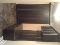 Mudroom Floor Ideas Furniture White Wooden Mudroom Open Shelf With Basket Storage