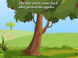 the boy apple tree moral story animation
