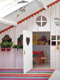 Playhouse Design Girls Bedroom Ideas Attic Room Design With Small Playhouse