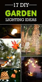 Diy Backyard Lighting Ideas 17 Gorgeous Diy Garden Lighting Ideas