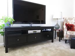 hemnes tv bench want simple effective and cheap ikea hemnes tv stand in black