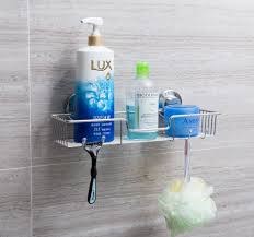 amazon com sanno bathroom shower caddy bath shelf storage