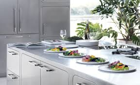 italian designed ergonomic and hygienic stainless steel kitchen modern kitchen with stainless steel countertop