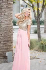 gold maxi dress pink gold sequin maxi dress beautiful modest bridesmaids
