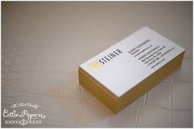 Business Cards Foil Blog Gold Foil Letterpress Business Cards With Gilded Edges And