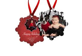personalize your tree with metal print ornaments