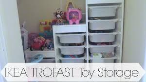 Ikea Toy Storage Ikea Trofast Toy Storage Youtube