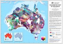 Australian Map Of The World by Geoscience Australia Metadata For Radiometric Map Of Australia