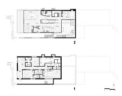 courtyard house plan gallery of courtyard house on a steep site hutchison u0026 maul