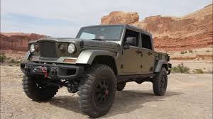 jeep concept vehicles explore concept vehicle jeep concept crew chief 715 youtube