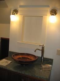 Oak Bathroom Light Fixtures by Sconces Basement Bathroom Design Bathroom Glugu
