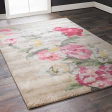 Pink Floral Rugs Floral Rugs Shades Of Light