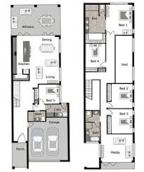 Lincoln Is A Small Lot And Narrow Block Home Design By GW Homes - Narrow block home designs