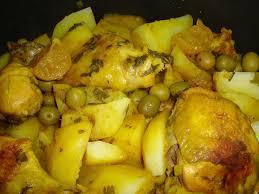 poulet aux citrons confits cuisine tajine de poulet aux pommes de terre et citrons confits et abc