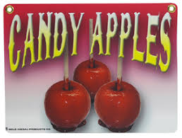 where to buy candy apples new pretzel sign candy apple heavy duty candy apple sign