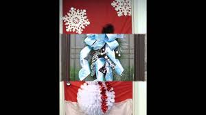 Door Decorations For Winter - ideas for winter door decorations youtube