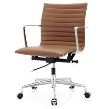 Camel Leather Chair Office Chair In Aniline Leather Color Options