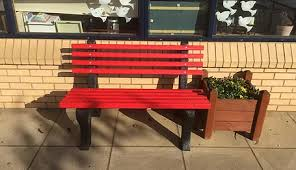 Recycled Plastic Benches For Schools Recycled Plastic Product Bedford Durable Landscape Supplies