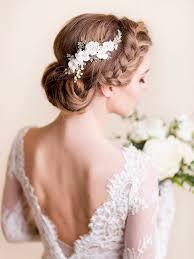 flower hair flower hair comb cherry pearl florentes