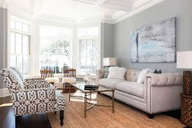 coastal living in fairfield county beach style living room