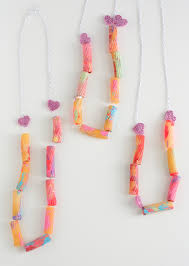 valentines necklace toddler valentines noodle necklace the alison show