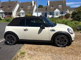 2009 mini cooper s convertible r56 pepper white with full carbon