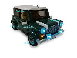 lego mini cooper instructions led lighting kit for lego 10242 mini cooper u2013 brick loot